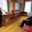 Predbožićni susret svećenika u biskupijskomu ordinarijatu