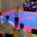 Tkd Gacka na seminaru za taekwondo sudce predstavljale dvije sutkinje