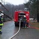 Vježbe vatrogasaca na Ličkoj kući