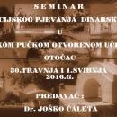 Seminar za voditelje i članove folklornih skupina u Otočcu