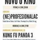 Dva filmska naslova u kinu GPOU-a