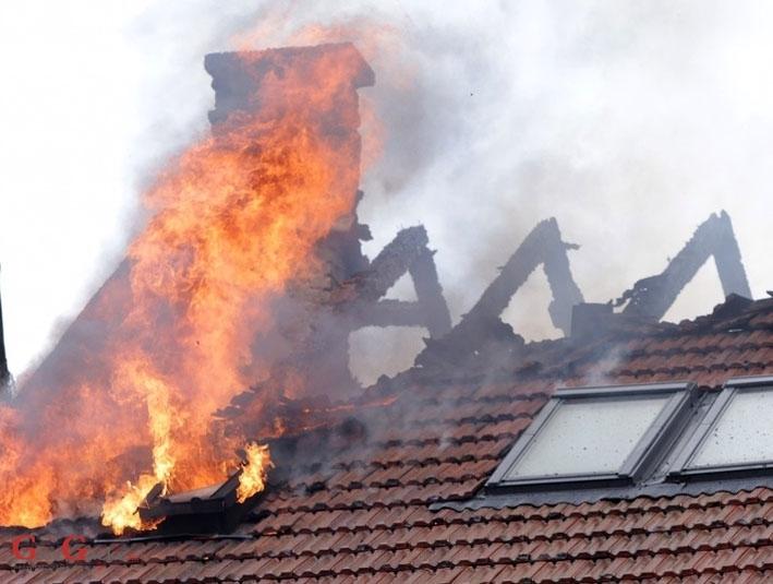 Požar u obiteljskoj kući, srećom bez žrtava