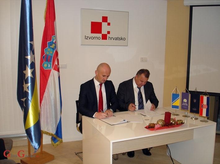 Potpisan Sporazum o suradnji dvije komore