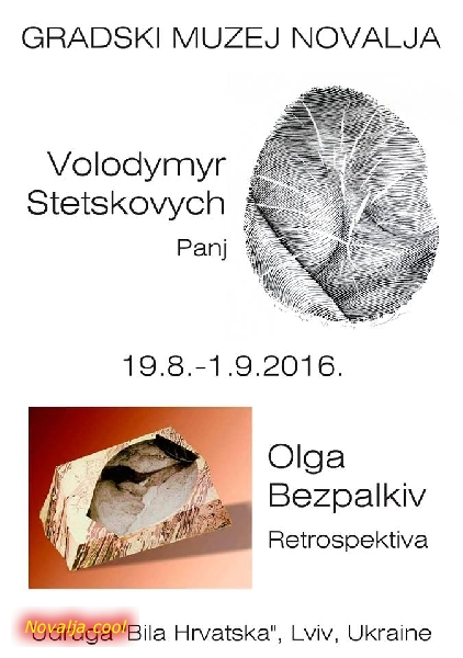 Večeras izložba ukrainskih umjetnika Olge Bezpalkiv i Volodymyra Stetskovycha