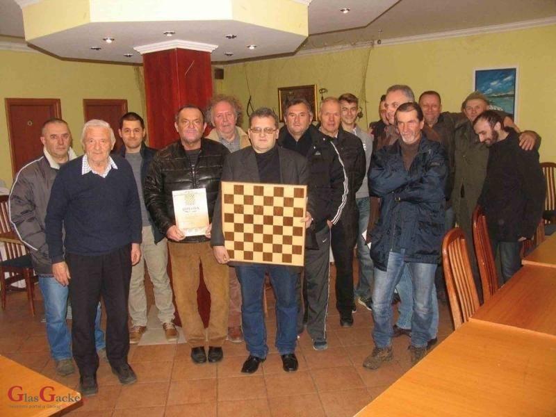 Nenad Levar pobjednik memorijalnog šahovskog turnira u Gospiću