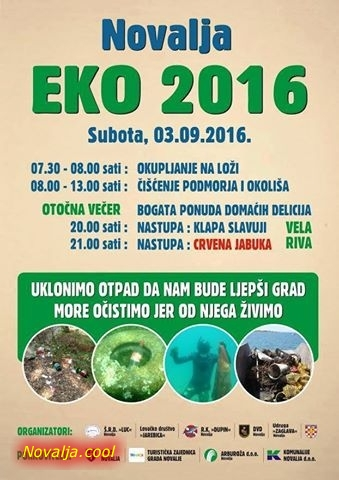 "Danas ""EKO 2016"" u Novalji"