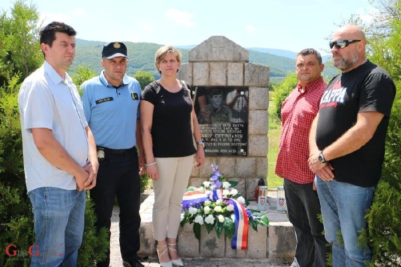 Obilježena 25. godišnjica pogibije Slavka Cetinjanina