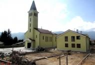 Sutra blagoslov crkve sv. Ivana Pavla II. u Donjem Lapcu