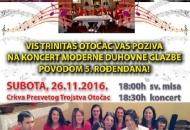 26. studenoga (jubilarni) koncert VIS-a Trinitas