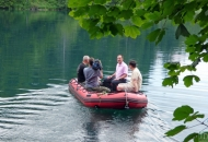 Ministar Dobrović u čišćenju plitvičkih jezera