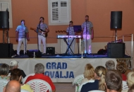 Koncert klape Barone u Novalji