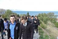 Sjemeništarci iz Zagreba posjetili župu Senj