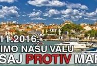 SDP Novalje - PROTIV smo izgradnje marine u Luci Novalja