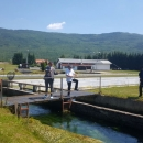 Orešković na ribogojilištu u Sincu