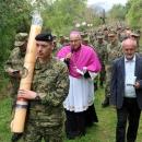Prvo hodočašće kopnene vojske RH na Udbini
