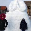Nisu to obični snjegovići  već prave snježne skulpture
