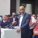 Predizborni skup Narodne koalicije u Gospiću