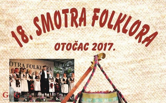 Sve je spremno i za 18. Smotru folklora Otočac 2017.!