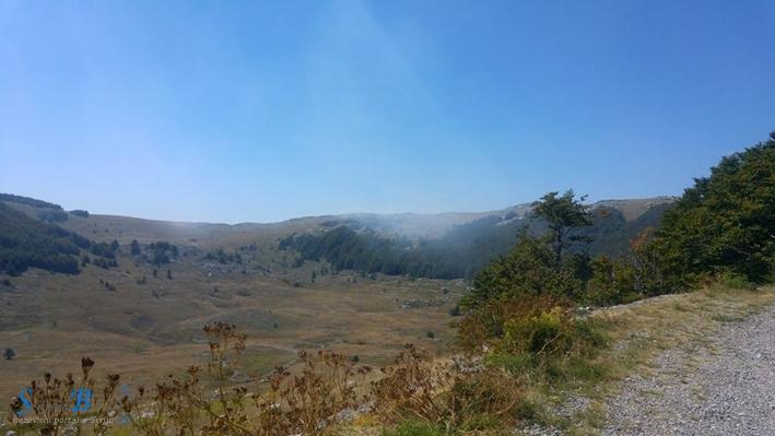Obuzdan požar na Velebitu