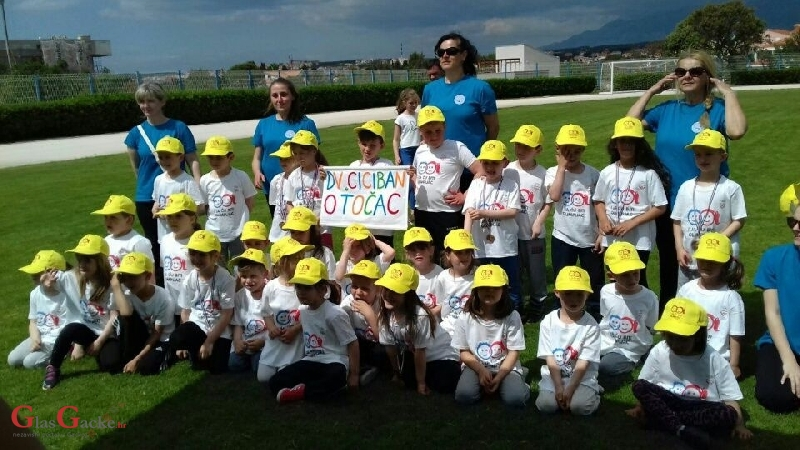 Klinci osvojili medalje na Olimpijskom festivalu dječjih vrtića u Novalji