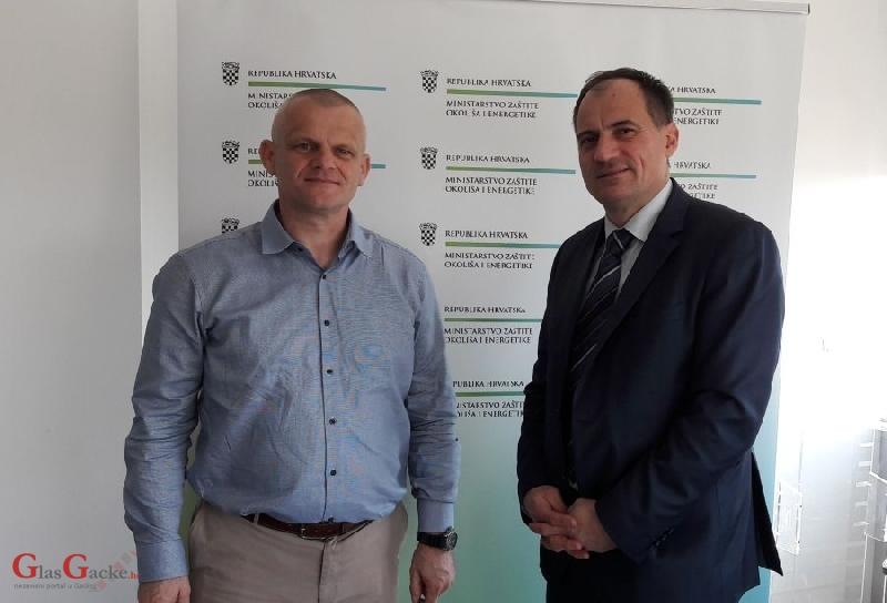 Ministar Dobrović održao radni sastanak s novoizabranim ravnateljem NP Plitvička jezera