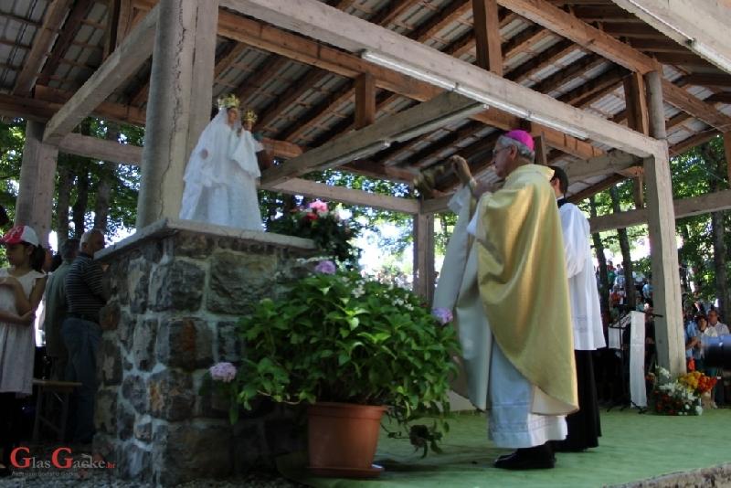 Biskup Križić o Marijinoj patnji kao ključu za tajnu ljudske patnje