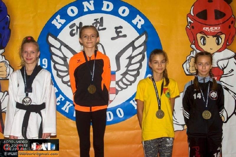 Taekwondo klub Gacka na 12.Kondor Open u Zagrebu