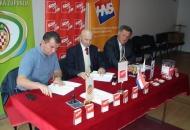 SDP, HSS i HNS u Otočcu potpisali koalicijski sporazum