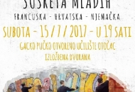 Izložba radova mladih iz Francuske, Njemačke i Hrvatske