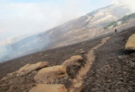 Požar na južnoj granici NP Sjeverni Velebit