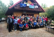 100 planinara u Kuterevu