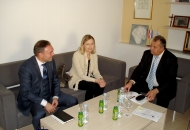 Slovenska veleposlanica Knez u posjeti ŽK Otočac