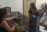 Učenica generacije OŠ S.S Kranjčevića Senj Mia Filipović na primanju kod Gradonačelnika