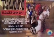 "U subotu ""16.GACKA OPEN 2017"" u Otočcu"