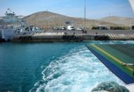 """Putnička brodica """"Maslina"""" prema Lunu, međužupanijska brodska linija spaja otoke Rab i Pag"""