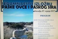 17. izložba paške ovce i paškog sira