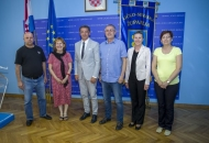 Predsjednik Sindikata u hrvatskom školstvu Stipić na prijamu kod Župana Milinovića