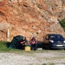Prve laste u autokampu Škver