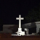 Uređen parkić i rasvijetljen križ