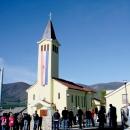Proslavljena Mala Gospa u Boričevcu, D. Lapcu i Zavalju
