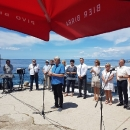 """Putnička brodica """"Maslina"""" međužupanijska brodska linija koja spaja otoke Rab i Pag"""