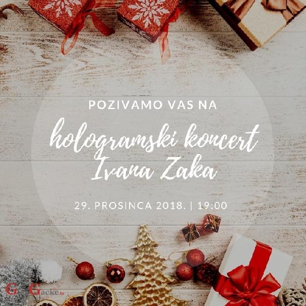 U subotu večer hologramski koncert Ivana Zaka na Plitvicama