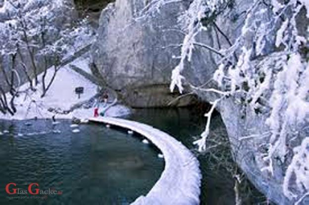 Kanjon Donjih jezera zatvoren za posjetitelje