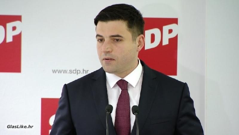 Davor Bernardić ( SDP ) sutra u Donjem Lapcu