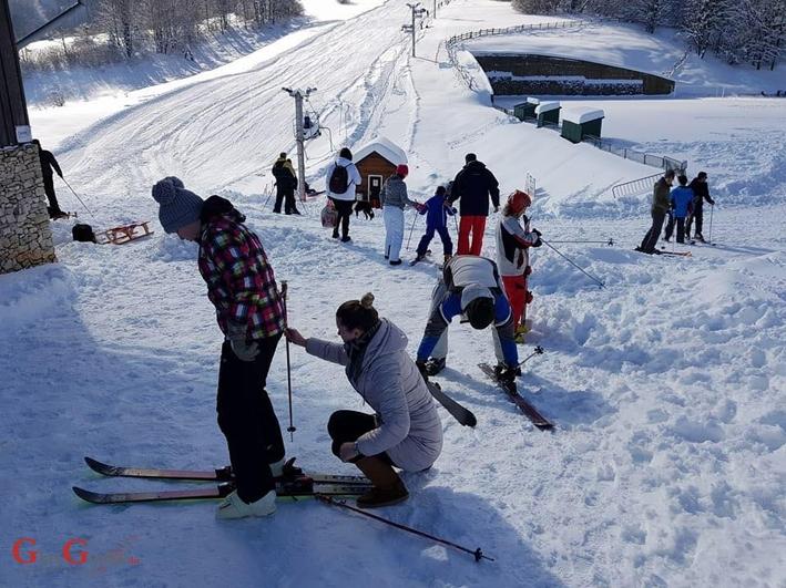 Skijanje na Plitvičkim jezerima