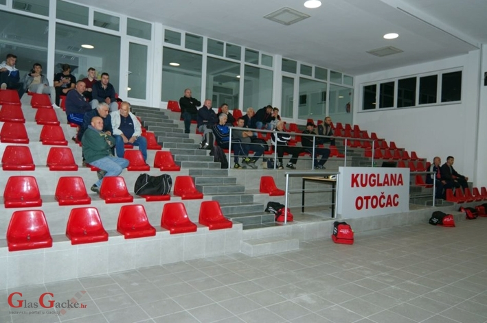 Juniorska reprezentacija na treninzima u Otočcu