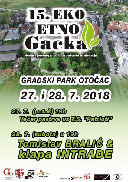 Prednajava - 15. Eko-etno Gacka