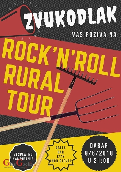 ROCK'N'ROLL RURAL TOUR  u Dabru