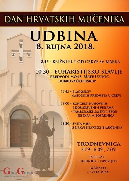 Dan hrvatskih mučenika - 8. rujna