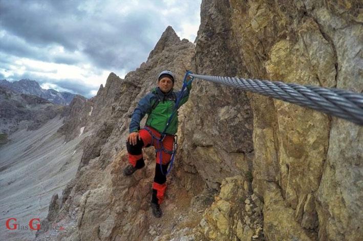 I mi alpiniste za trku imamo